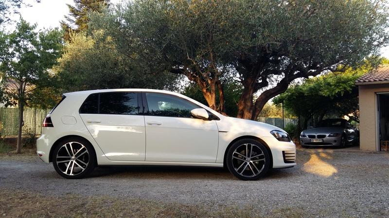 VW GOLF VII GTD Blanc Pur de 2014 411