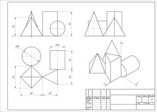 Окажу помощь в проектировании чертежей, 3D моделирование Cfghj510