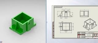 Окажу помощь в проектировании чертежей, 3D моделирование Yheweg13