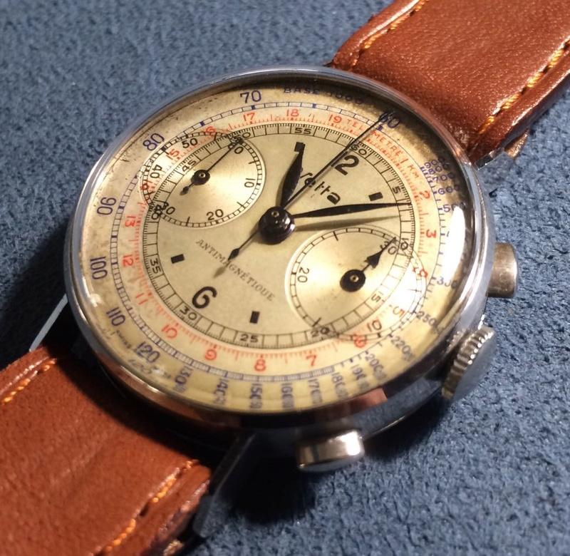 Enicar -  [Postez ICI les demandes d'IDENTIFICATION et RENSEIGNEMENTS de vos montres] - Page 3 Vetta110
