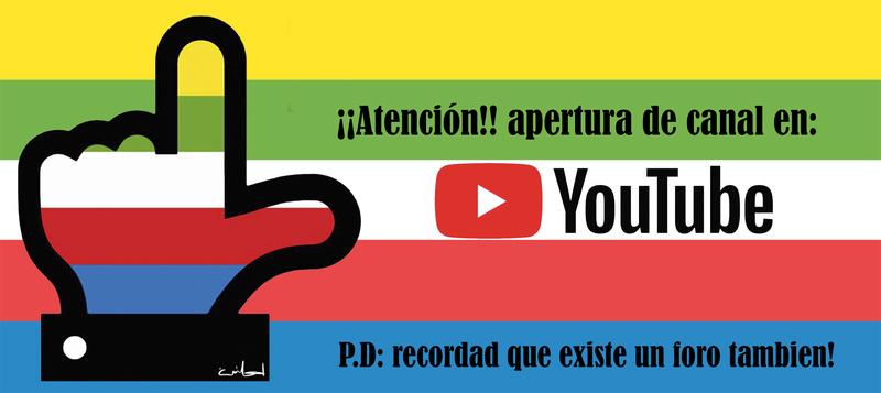 Lanzamiento de Canal de Youtube Youtub10