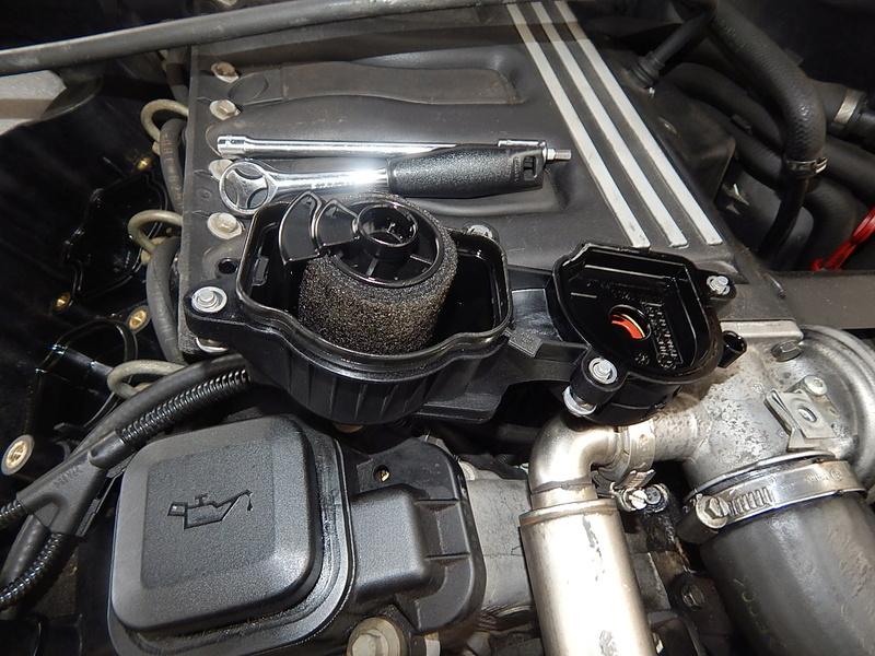 [ BMW E46 320d M47 an 1998 ] Monter un récupérateur d'huile (résolu) Dscn5511