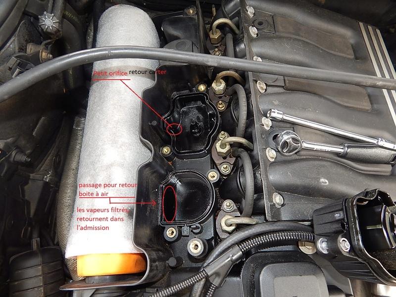 [ BMW E46 320d M47 an 1998 ] Monter un récupérateur d'huile (résolu) Dscn5519