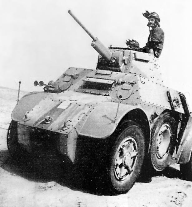 اسلحة الحرب العالمية الاولى و الثانية :الجزء الثانى العربة المدرعة الايطالية اب41 أوتوبليندا 41    AB 41 Vehicl15