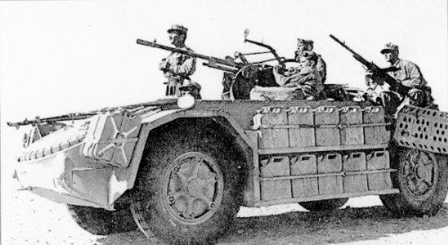 """اسلحة الحرب العالمية الاولى و الثانية :الجزء الثالث  العربة الايطالية المدرعة The AS 42 """"La Sahariana""""  أس 42 """"لا ساهاريانا"""" Weapon22"""