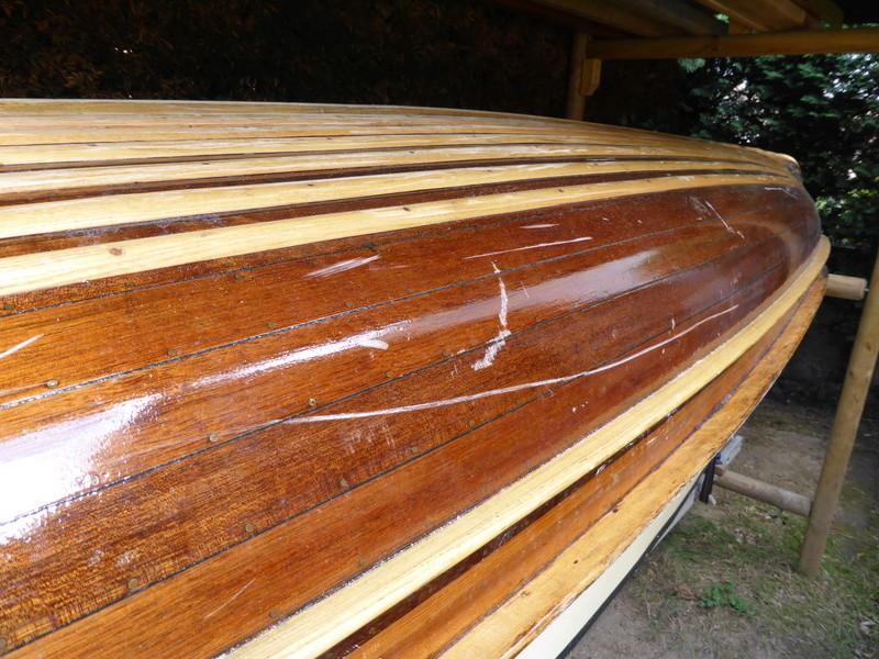 Rénovation canoë acajou PIERRE DELMEZ - Page 2 Forum137
