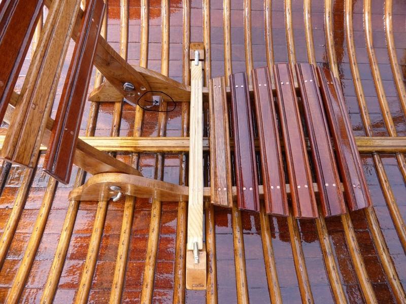 Rénovation canoë acajou PIERRE DELMEZ Forum141