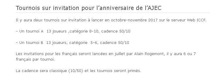 AJEC80B, AJEC 80 ans. Tournoi B Cddir10