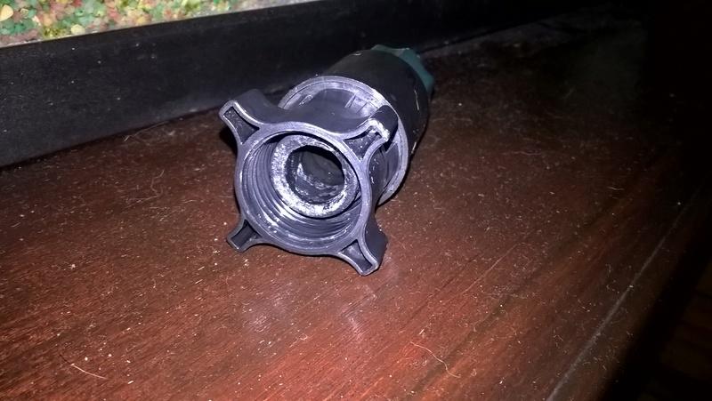 Reparação filtro externo canister Wp_20112