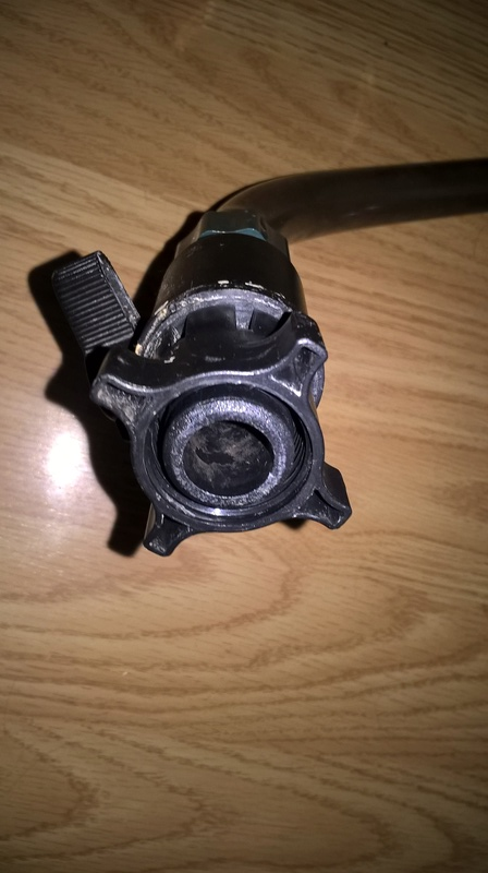 Reparação filtro externo canister Wp_20113