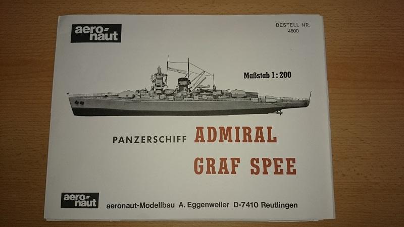 Abbruch - Admiral Graf Spee 1:200 gebaut von Brandti Aufbau10