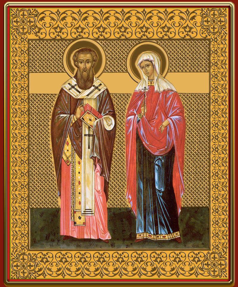 Икона Киприана и Устиньи 2nkjbl10