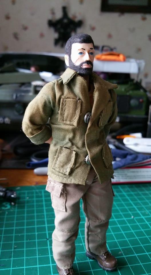 ACTION Man 7 inch Zjoe110