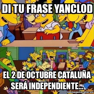 ¿Qué opináis sobre la posible independencia de Cataluña? - Página 34 Bart110