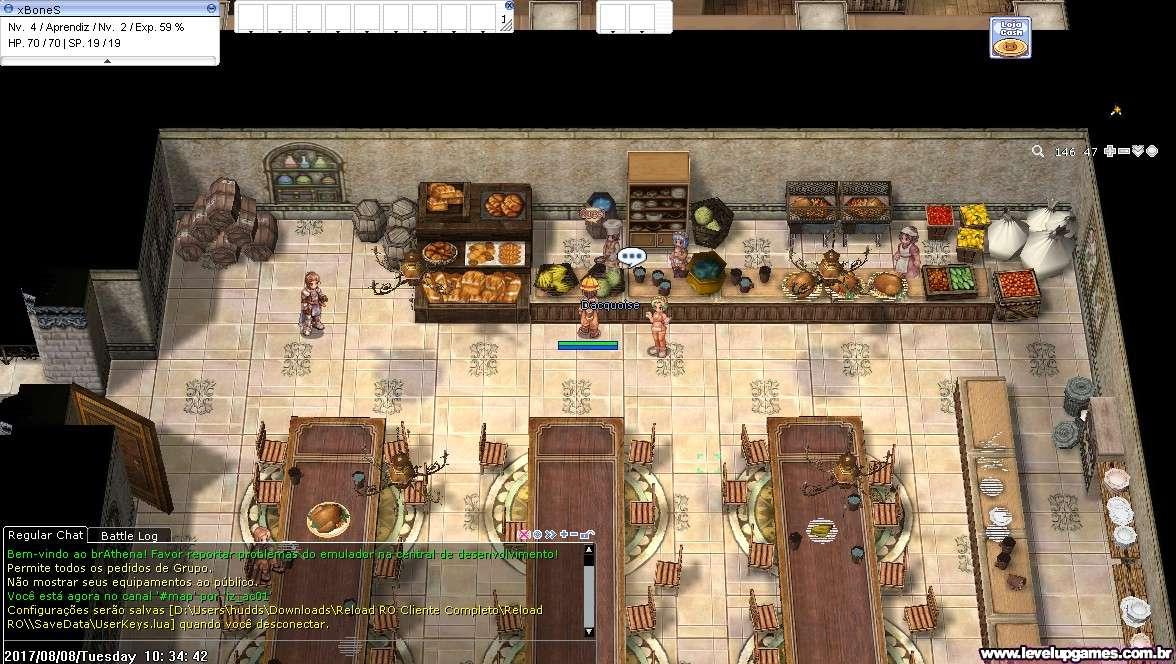 BUG no Cozinheiro Academia Izlude Screen15