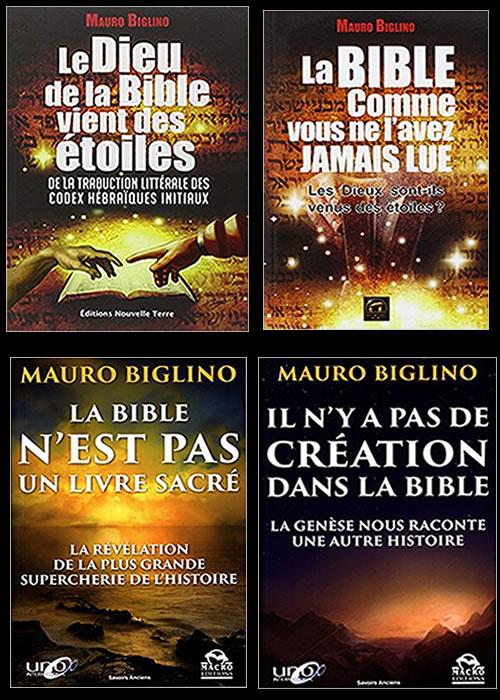 Mauro BIGLINO les extraterrestres et la BIBLE ça secoue en Italie ! Livres10