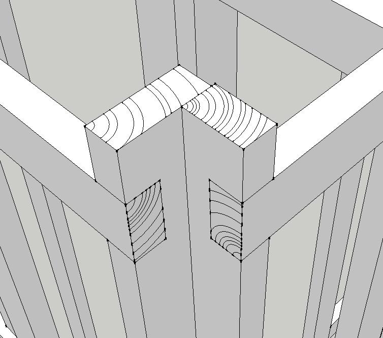 poteaux d'angle inversés, comment les monter ? Ossatu10