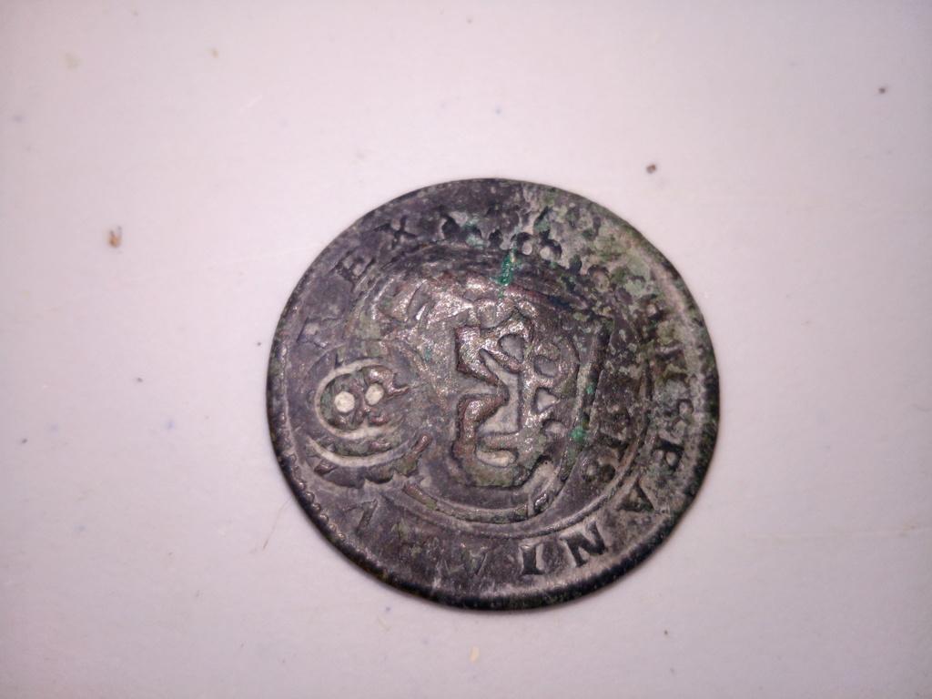VIII maravedís de Felipe III, 1618, Segovia, con resellos. Img_2010