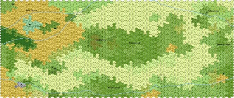 Map of Wyverndale  Wyvern10