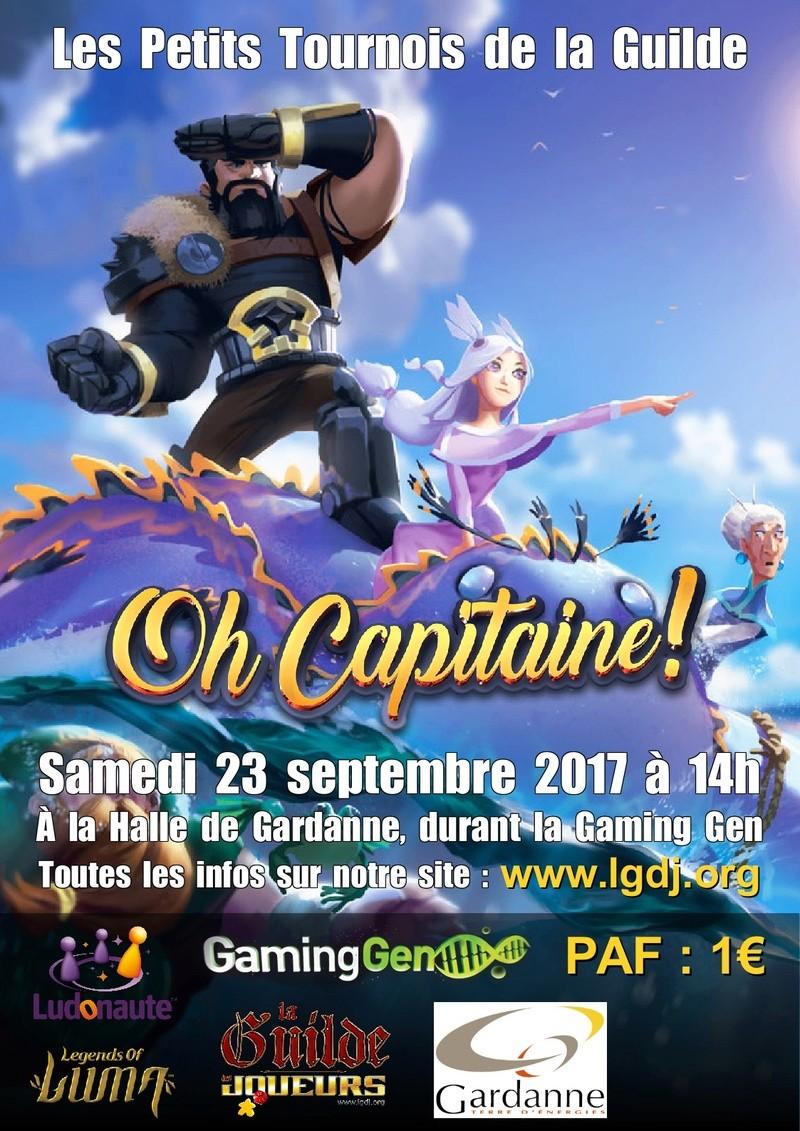 """Samedi 23 septembre 2017 - Tournoi de """"Oh Capitaine !"""" Affich10"""