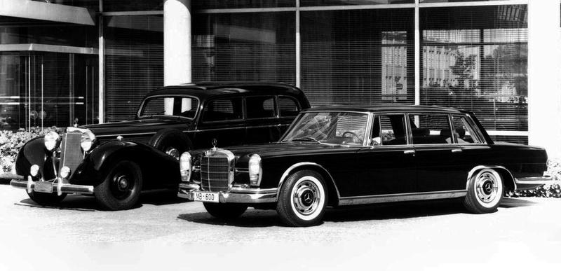 Les Grosser Mercedes : w150 vs w100 600_et10