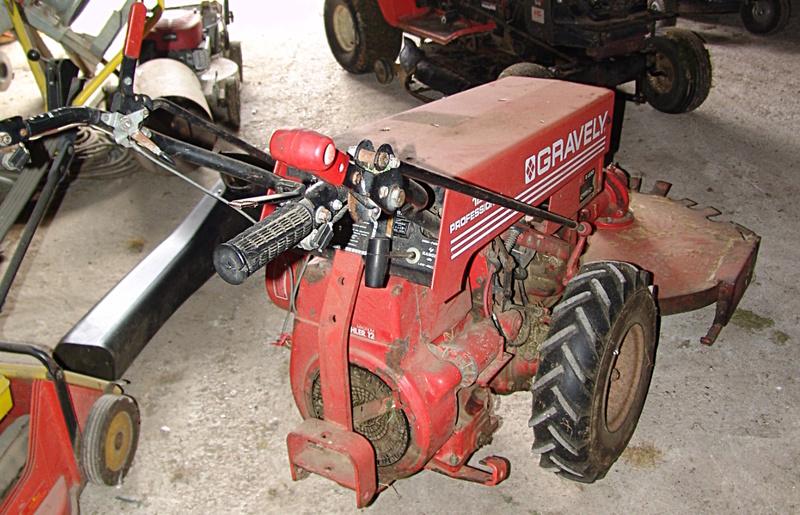 gravely - Moteur cassé sur un Gravely Professional 12 Gravel10