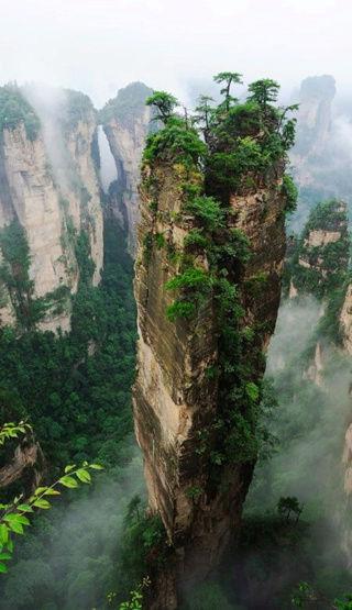 Wulingyuan , le décor du film Avatar en Chine China310