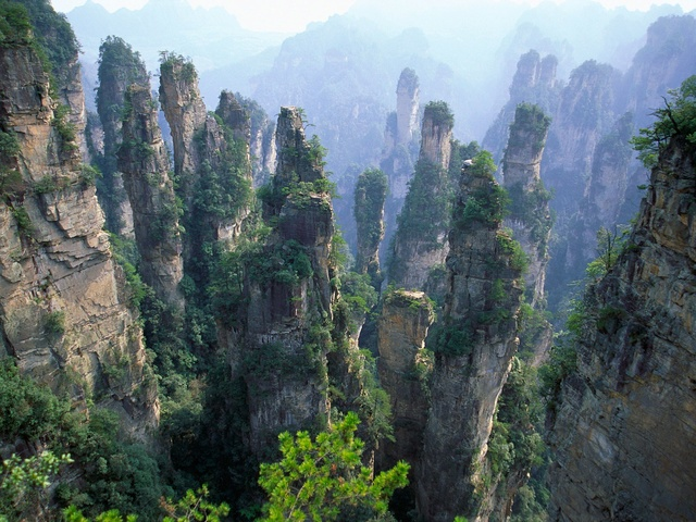 Wulingyuan , le décor du film Avatar en Chine Chine10