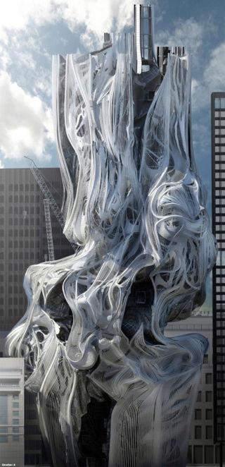 Architecture futuriste Futur10