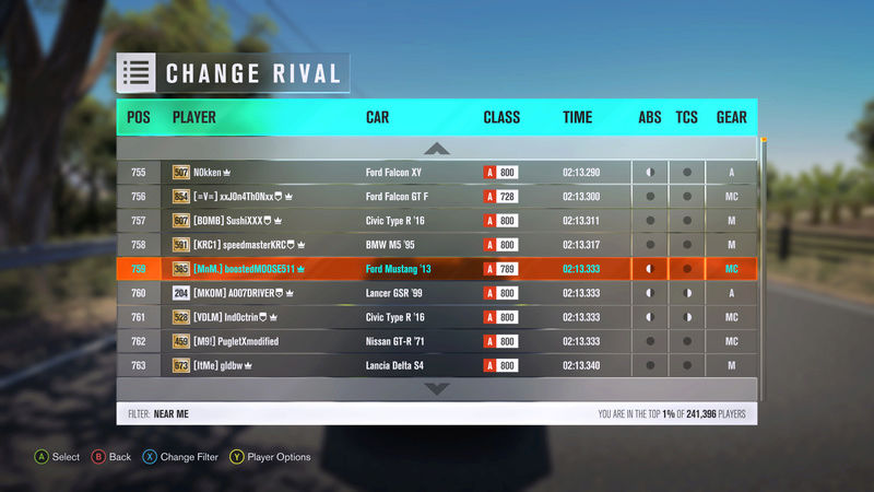 FH3 | Stock Car Challenge #19 (2013 Ford Shelby GT500) *RESULTS UP* 7669d510