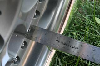 19 inch Work VS-XX, powder-coated grey, 5x114.3, 19x9.5 +19 front / 19x10.5 +17 rear Img_8627