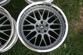 19 inch Work VS-XX, powder-coated grey, 5x114.3, 19x9.5 +19 front / 19x10.5 +17 rear Img_8631