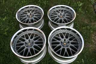 19 inch Work VS-XX, powder-coated grey, 5x114.3, 19x9.5 +19 front / 19x10.5 +17 rear Img_8633