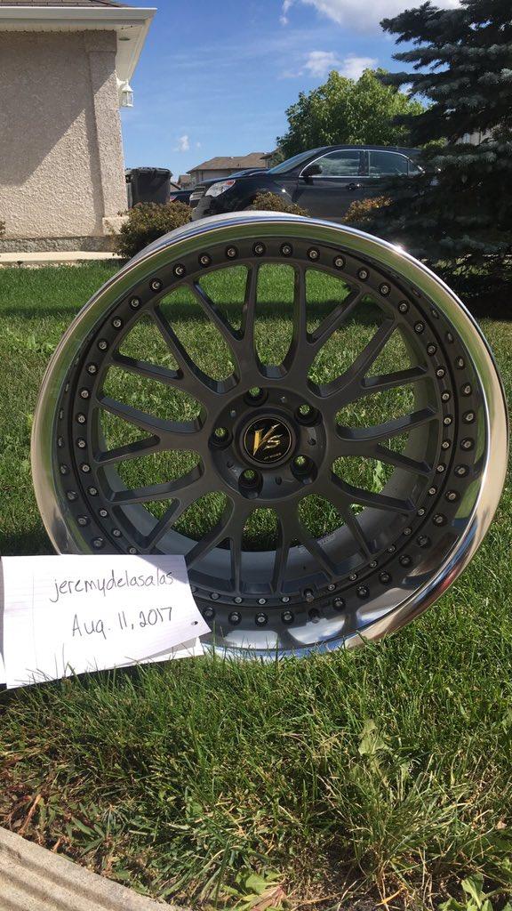 19 inch Work VS-XX, powder-coated grey, 5x114.3, 19x9.5 +19 front / 19x10.5 +17 rear Kztufa11
