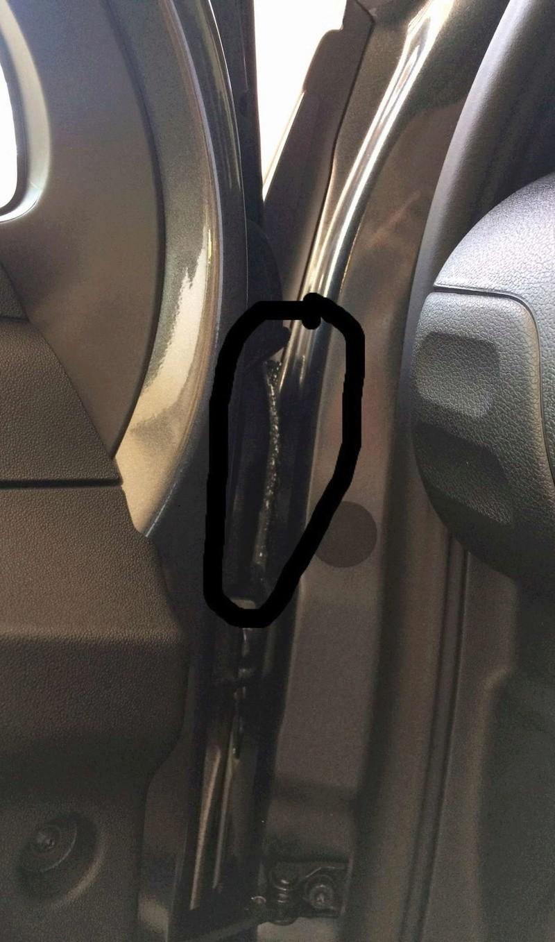 Eliminare segni della cera pre consegna auto nuova Img_9225