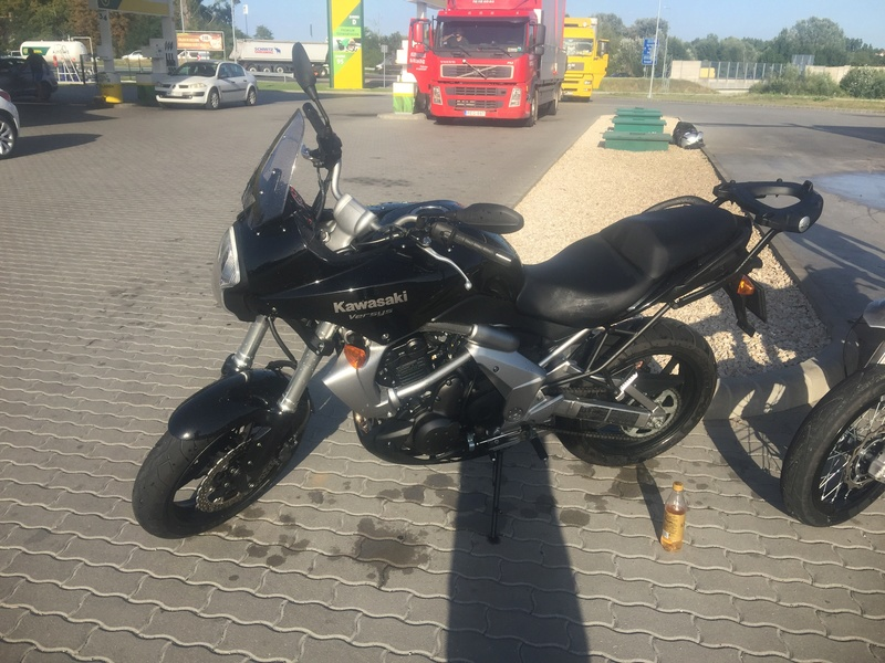 New motorcycle and license! 20170810
