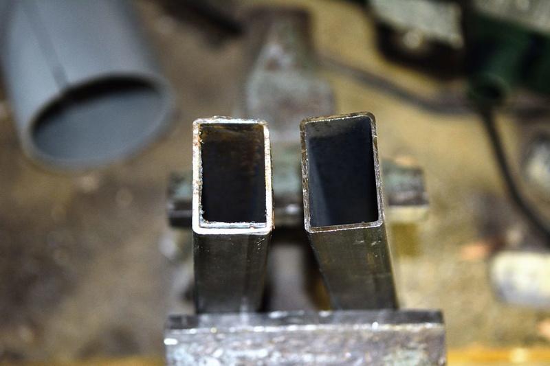 Test de la tronçonneuse métaux Evolution Rage 2 Dsc_7122