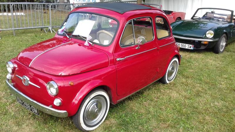 Passion d'antan le 15/08 à Cuq Fiat_513