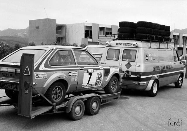 Bedford CF Rally Van 0001we10
