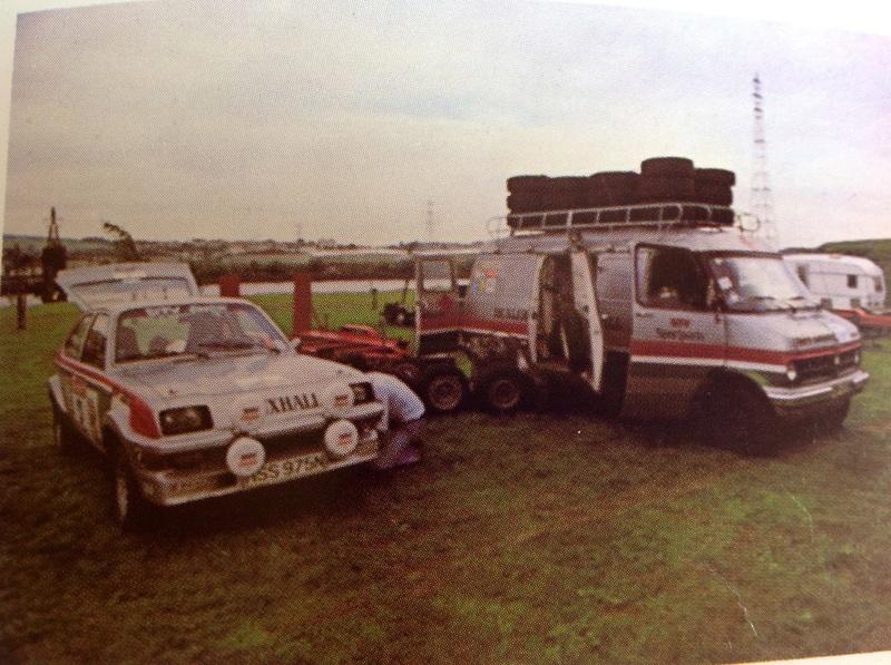 Bedford CF Rally Van 11412110