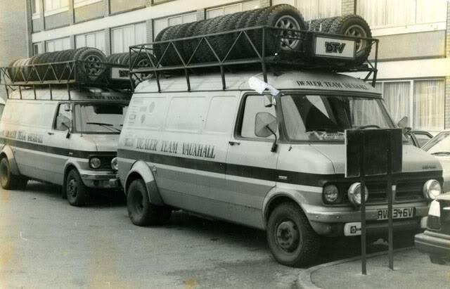 Bedford CF Rally Van 12003310