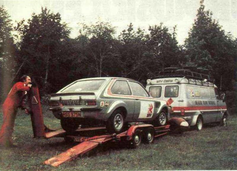 Bedford CF Rally Van 14380010