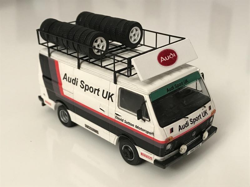 VW LT Audi Sport UK service van Assist10