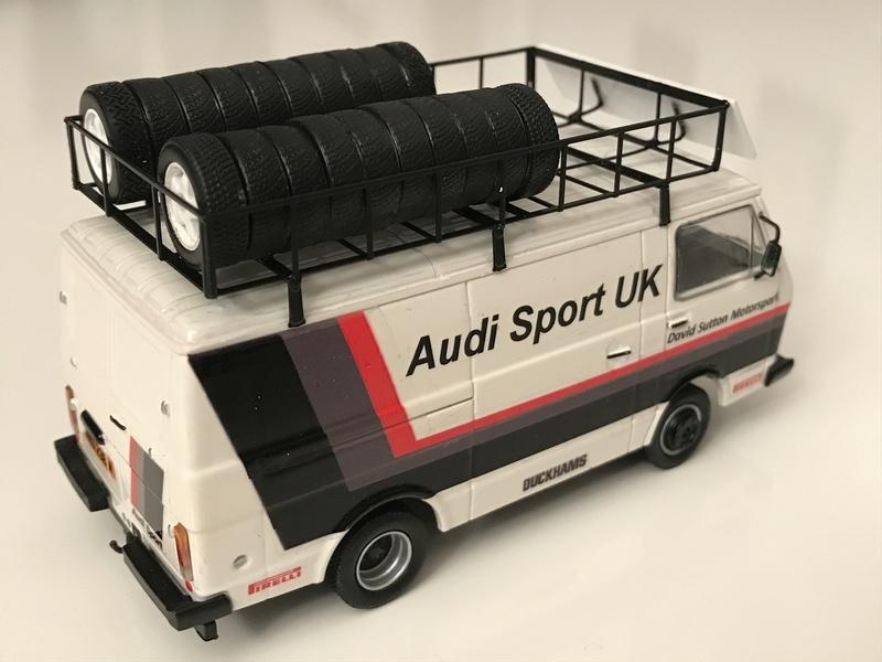 VW LT Audi Sport UK service van Assist11