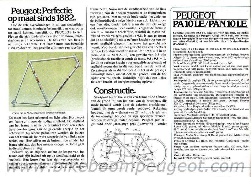 Peugeot course PAN10/LE de 1978  Peugeo12