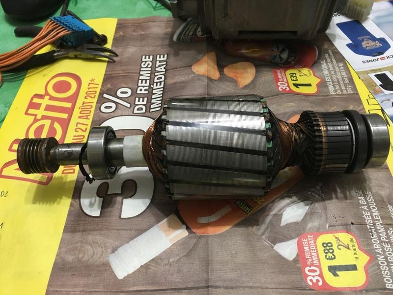 """Branchement moteur machine à Laver 8 fils """"noname"""" d'une siemens siwamat xts 1100 Img_0212"""