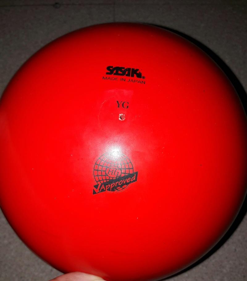 Vente ballon SASAKI rouge  20170810