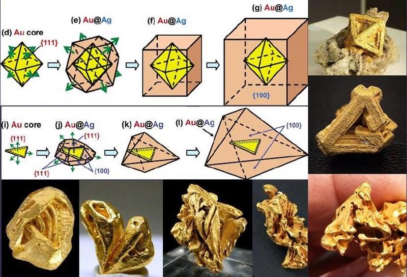 Some Australian Crystalline Gold Gold_c12