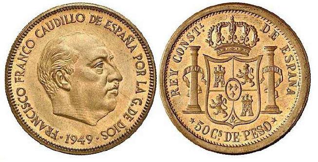 50 centavos de Peso 1880. Estado Español. Pruebas de máquinas. (Anmem dedit)  Prueba11
