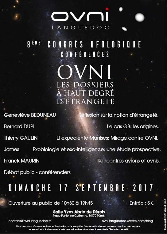 8ème congrès ufologique d'OVNI-Languedoc Affich11